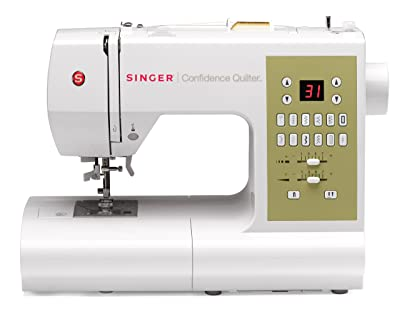 SINGER Confidence Computerized Quilter 7469Q Portable Sewing Machine
