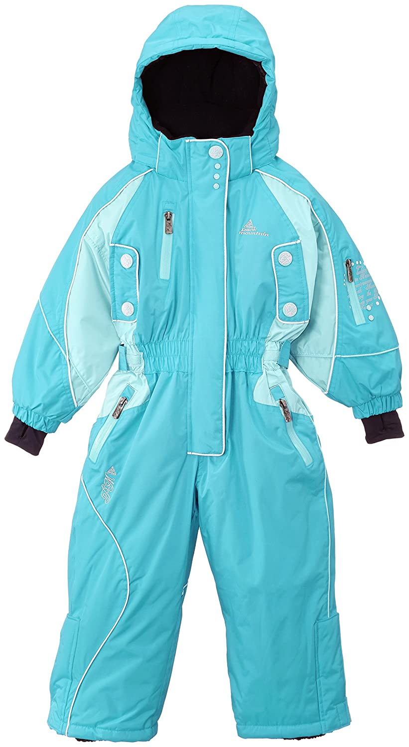 Peak Mountain Fiski/3-8/nh Girls' Ski Suit