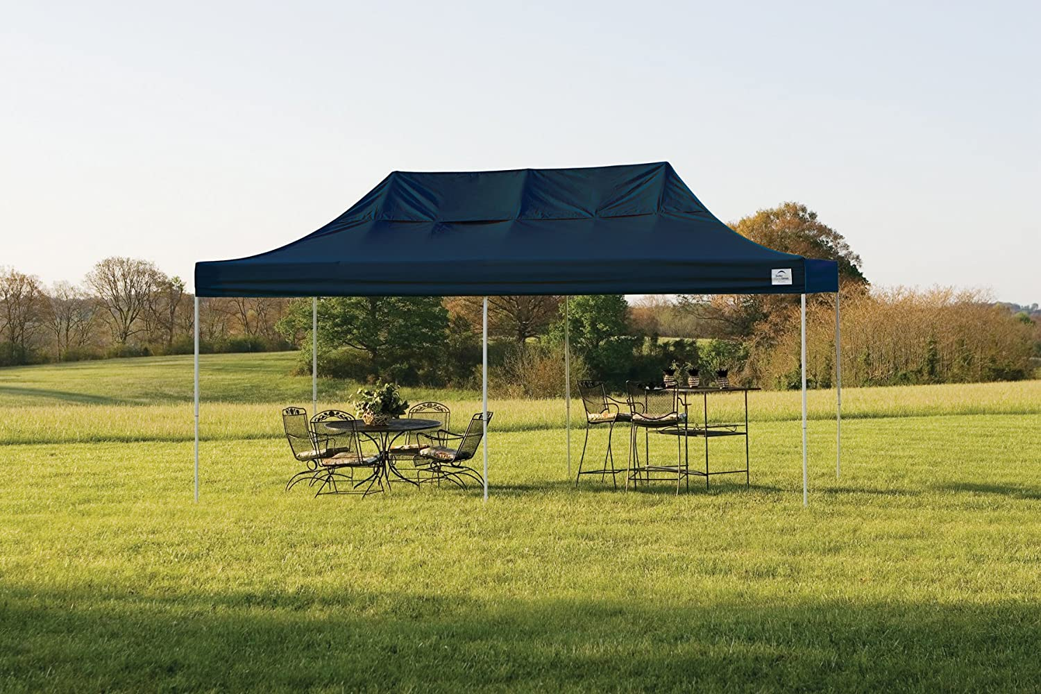 Amazon.com  ShelterLogic Straight Leg Pop-Up Canopy with Roller Bag 10 x 20 ft.  Outdoor Canopies  Sports u0026 Outdoors & Amazon.com : ShelterLogic Straight Leg Pop-Up Canopy with Roller ...