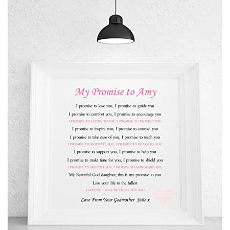 Pure essence greetings personalised godchild poem framed canvas pure essence greetings personalised godchild poem framed canvas print baptism blessing naming ceremony m4hsunfo