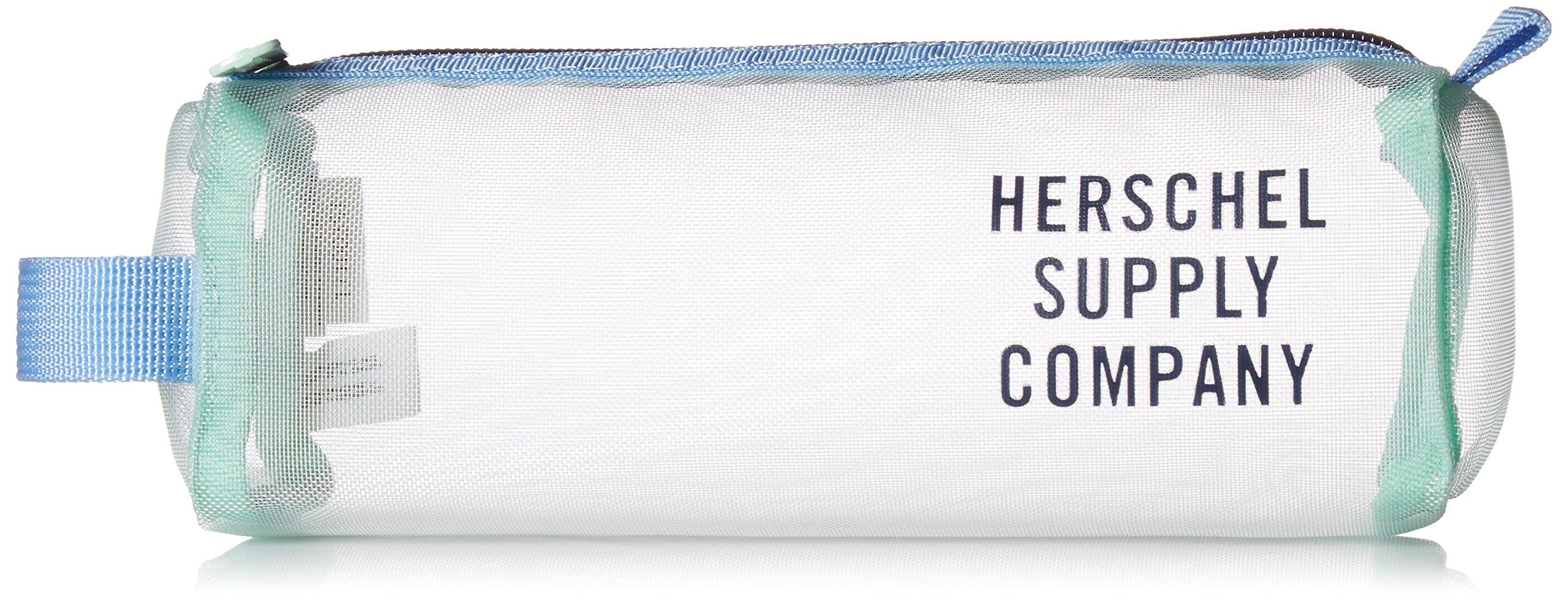 Herschel Supply Co. Unisex-Adults Settlement Mesh Case, Yucca/Peacoat/Hydrangea, One Size