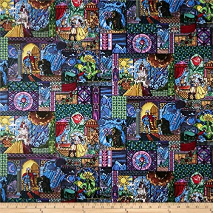 E Schenck Disney Posters The Greatest Love Story Ever Told Multi Fabric by The Yard E Multicolor