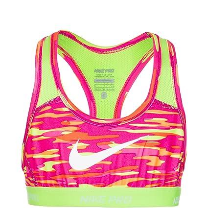 Nike Pro Hypercool niña Printed – Sujetador Deportivo, niña, Pro Hypercool Printed Sport,