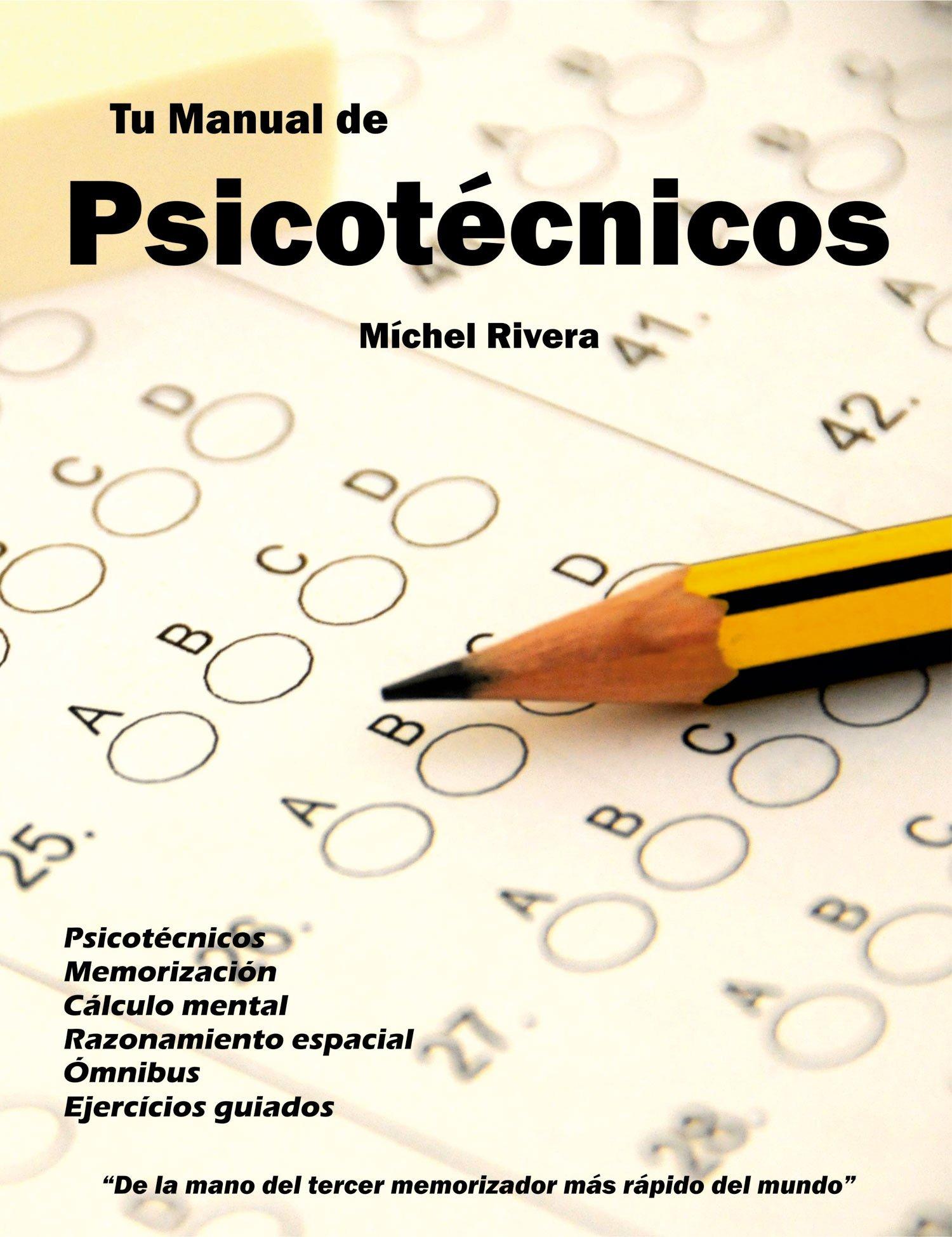 Tu manual de psicotécnicos (Spanish) Paperback