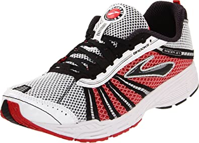 Brooks Unisex-Adult Racer St5 Black/White/Red Trainer 1000181D610 4.5 UK,