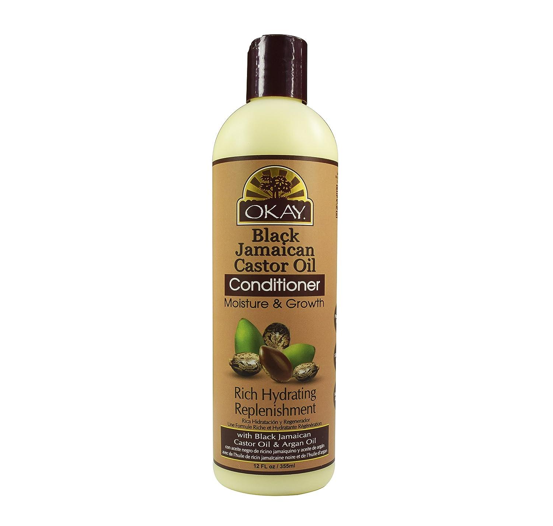 Amazon.com : OKAY Black Jamaican Castor Oil Moisture Growth Conditioner, 32 Ounce : Beauty