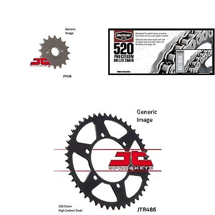BikeMaster 520 precisión rodillo cadena natural, JT Kit de ...