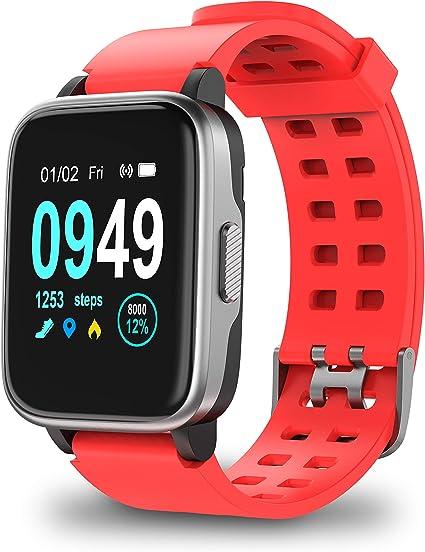 Amazon.com: Reloj inteligente para teléfono Android iOS ...