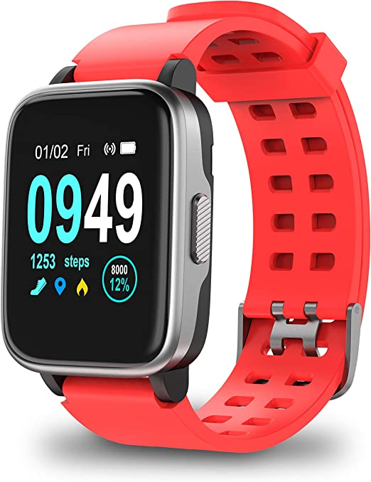 Updated Version Smart Watch for Android IOS Phone, Activity Fitness Trackers Health Exercise Watches with Heart Rate, Sleep Monitor and Calorie ...