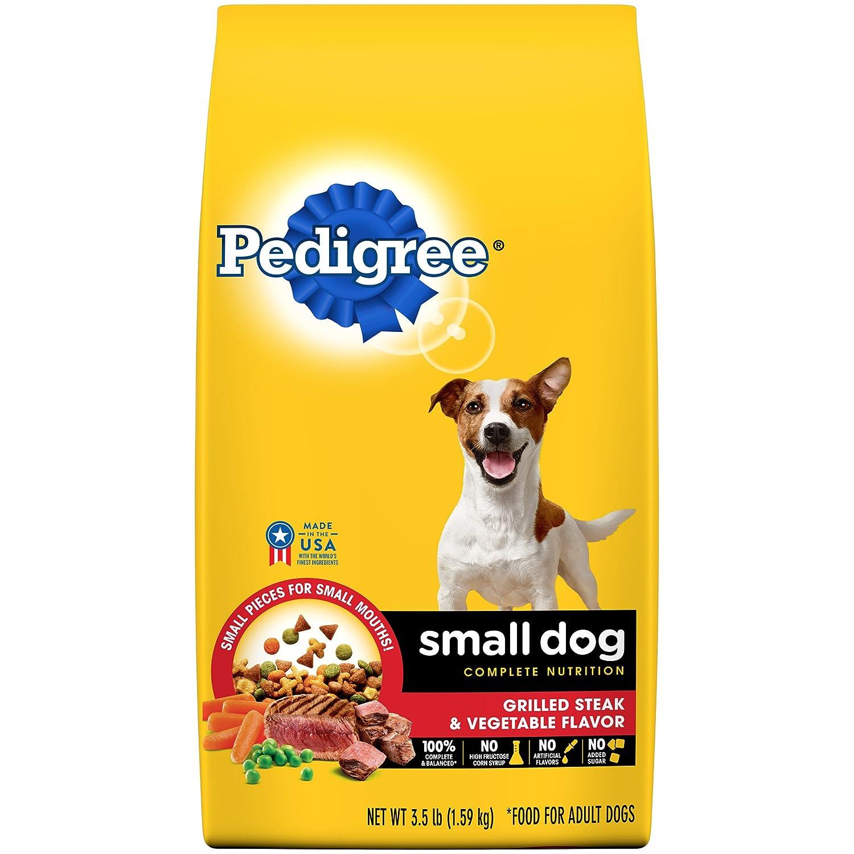 (Steak, 1.6kg. (Pack of 5)) Pedigree Small Breed Adult Dry Dog Food