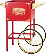 6400 Red Replacement Cart for Larger Roosevelt Style Great Northern Popcorn