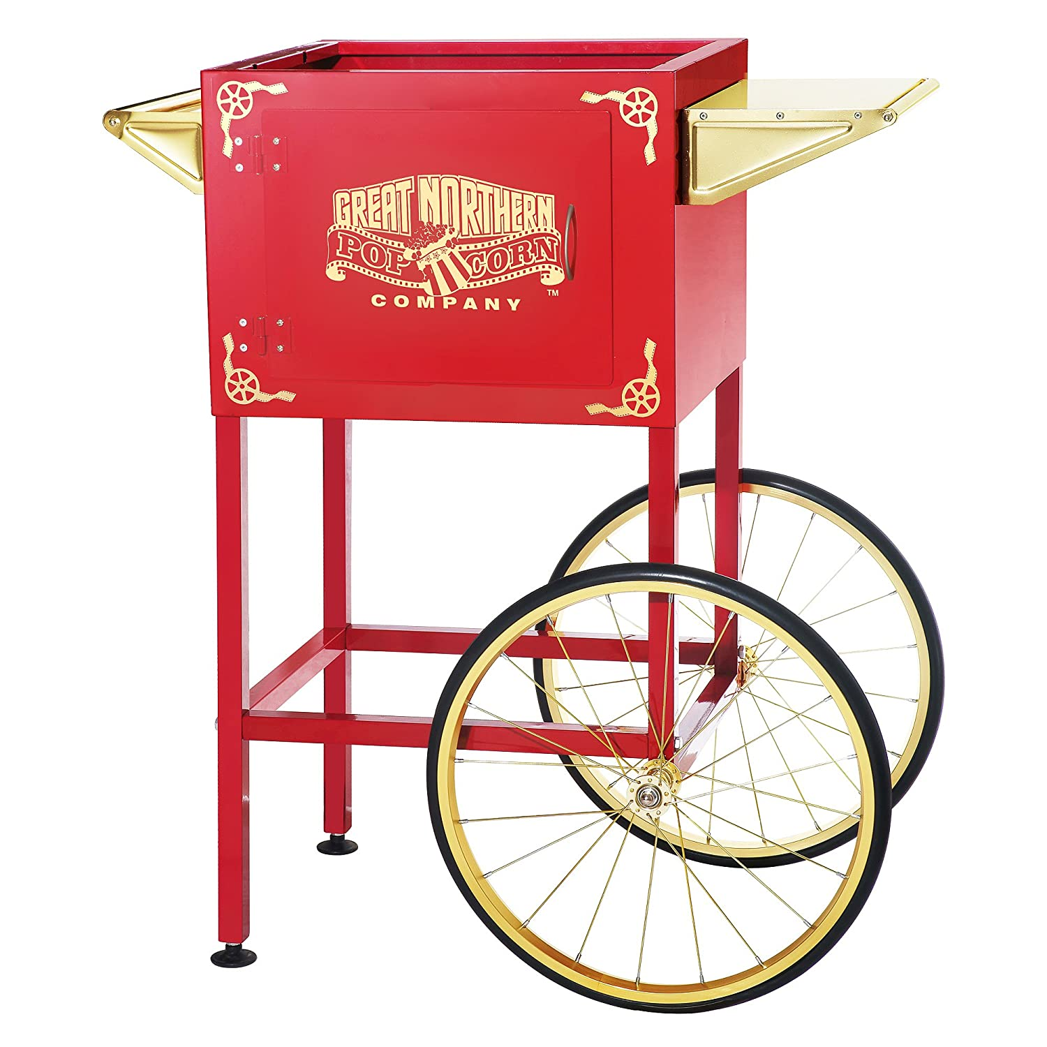 6400 Red Replacement Cart for Larger Roosevelt Style Great Northern Popcorn Machines 81kD37YmE1L._SL1500_