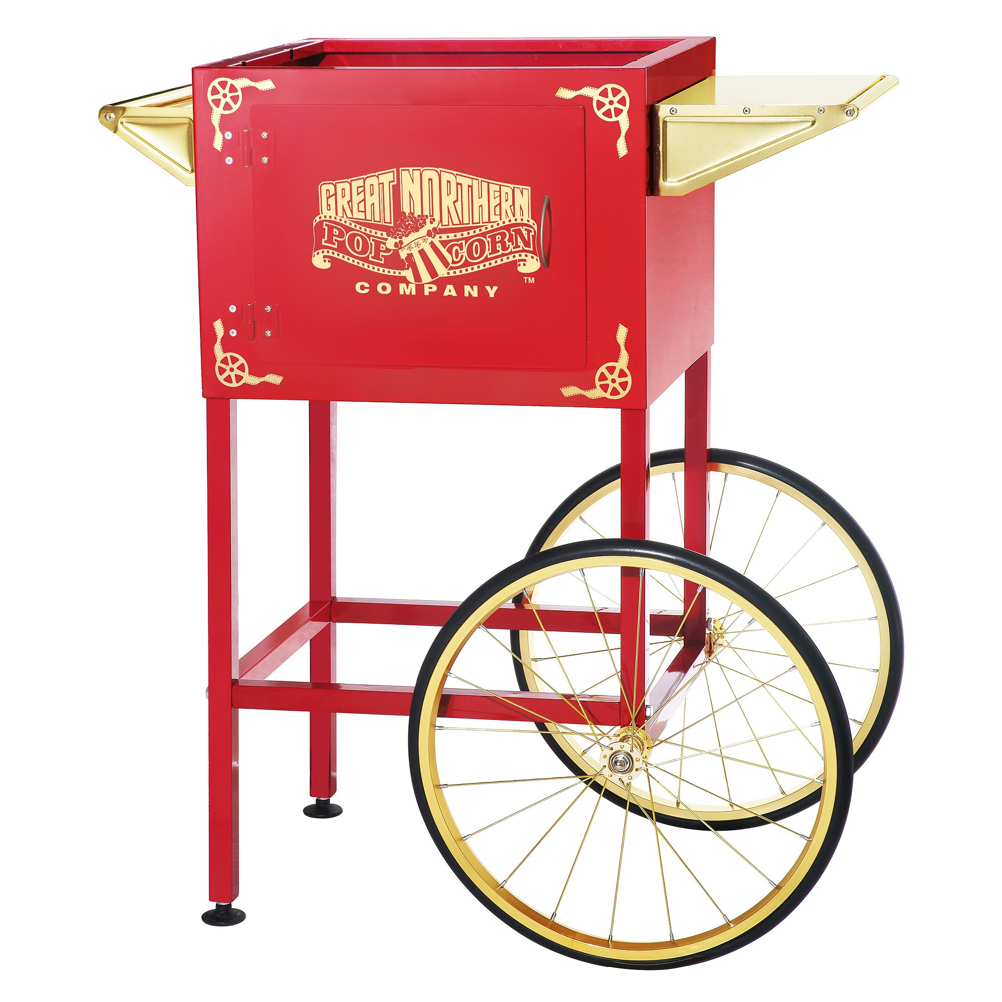 6400 Red Replacement Cart for Larger Roosevelt Style Great Northern Popcorn Machines by Great Northern Popcorn Company