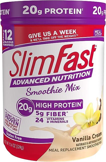 slim fast diet lactose intolerant