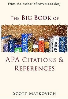 how to cite book review apa