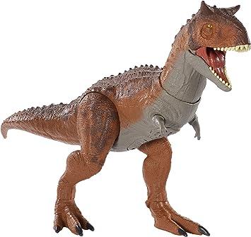 Jurassic World Dinosaurio De Juguete Carnotaurus Controla Y Conquista Mattel Gjt59 Amazon Es Juguetes Y Juegos Jurassic world dinosaurio sarcosuchus con movimiento mattel. jurassic world dinosaurio de juguete carnotaurus controla y conquista mattel gjt59