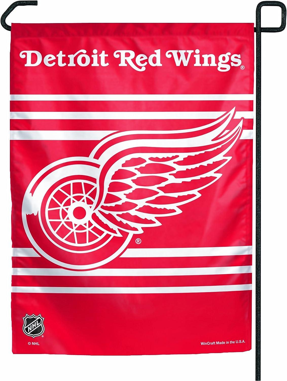 NHL Detroit Red Wings Garden Flag