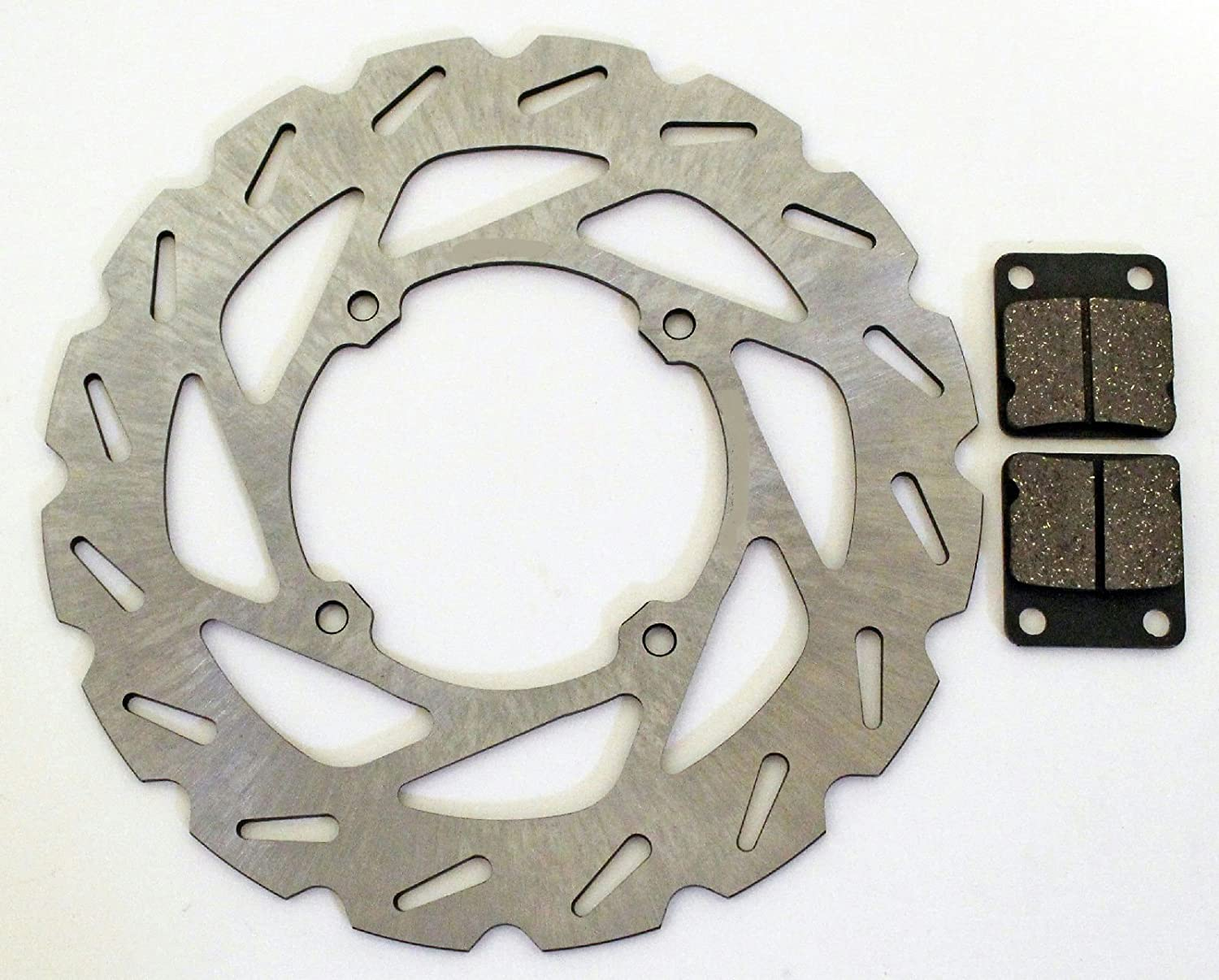 Fits Honda CRF150R and CRF150RB Expert Front Brake Pads and Sport Rotor