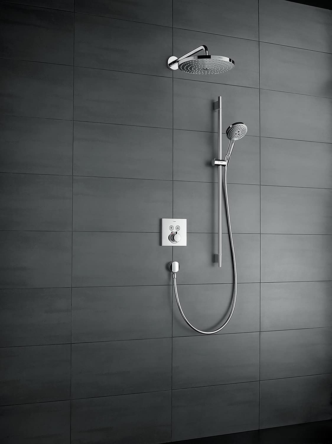 Hansgrohe Colour Set ERSE Window for Flush-Mounted Thermostat 2Users ...