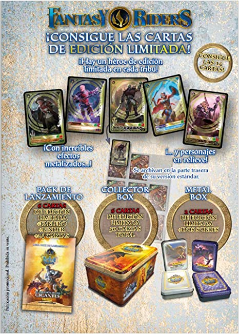 Megapack Lanzamiento Fantasy Riders Serie 2 (La Invasion De Los Gigantes): Amazon.es: Juguetes y juegos