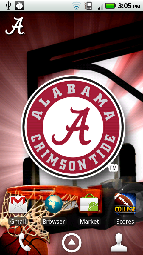 Alabama crimson tide revolving wallpaper appstore for android - Free alabama crimson tide wallpaper for android ...