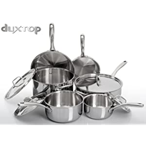 Duxtop Whole-Clad Tri-Ply Stainless Steel Induction Cookware
