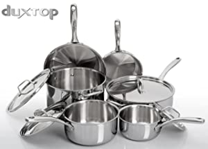 Duxtop Whole-Clad, 10-Pc Set