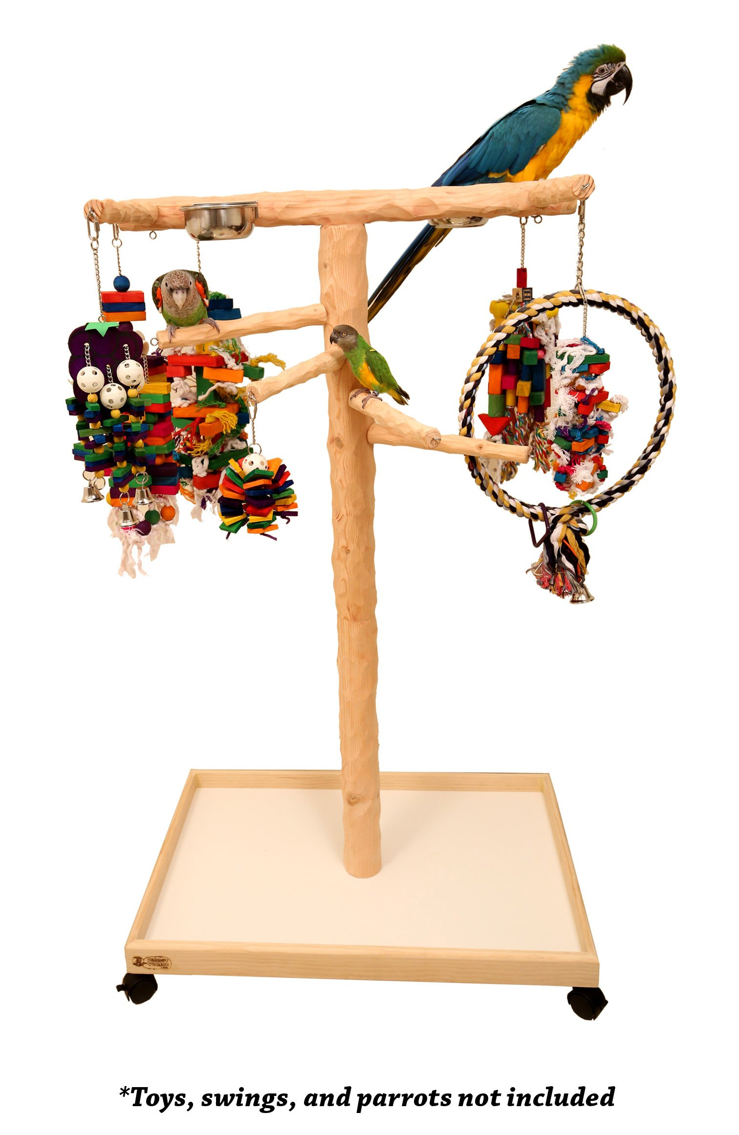Large NU Perch Parrot Climbing Tree by Parrot Wizard