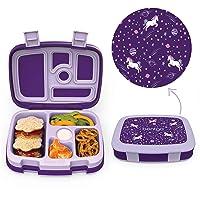 Bentgo Kids Prints (Unicorn) - Leak-Proof, 5-Compartment Bento-Style Kids Lunch...