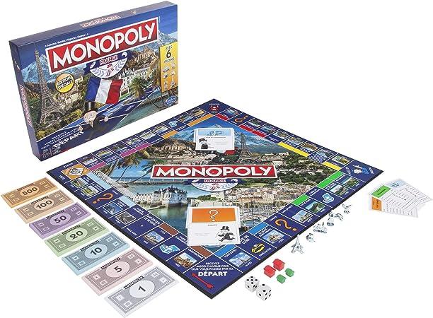 Monopoly Edition France - Juego de Mesa (versión Francesa): Amazon.es: Juguetes y juegos