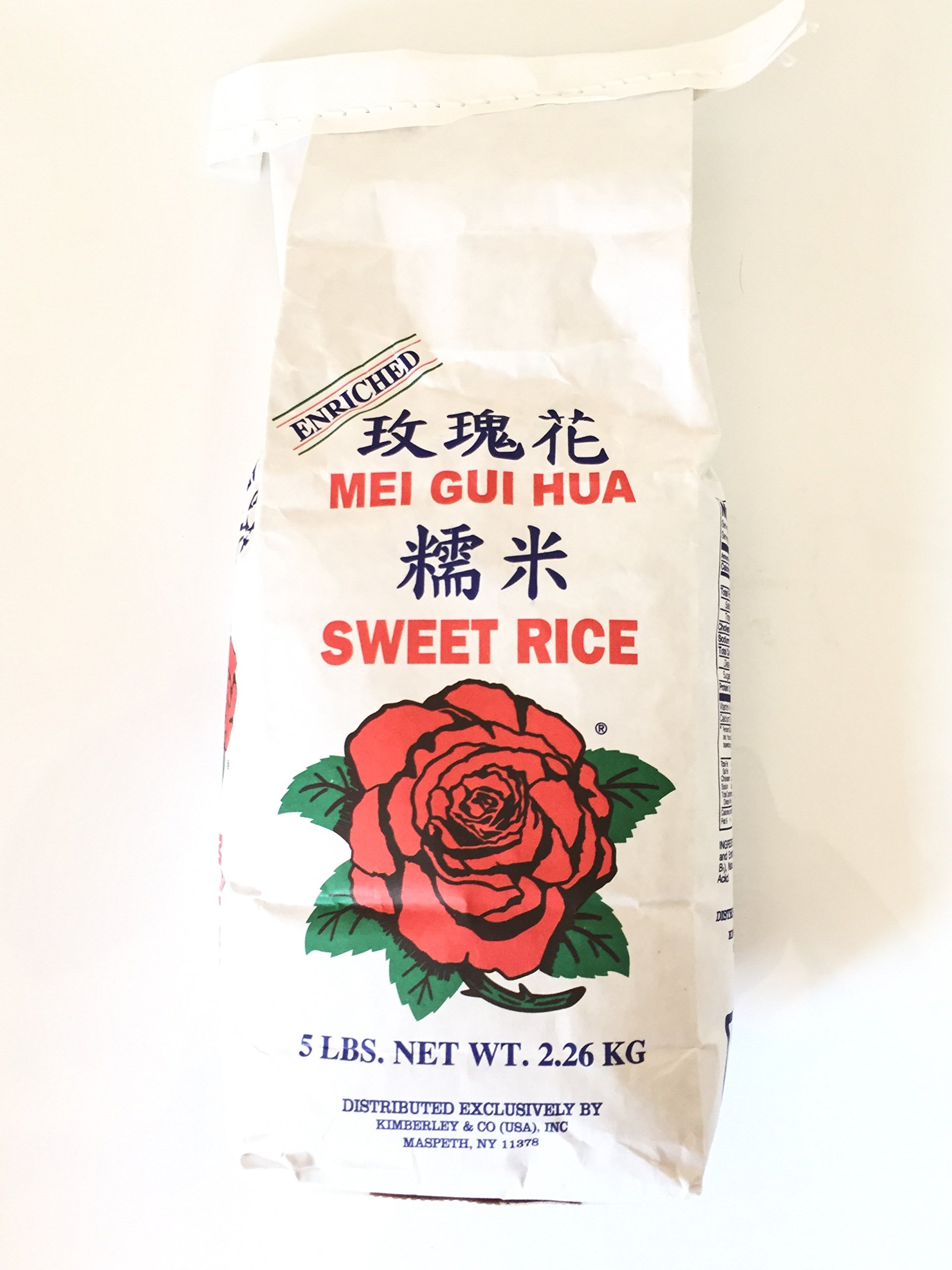 Mei Gui Hua Enriched Sweet Rice (5Lbs)