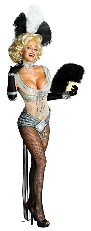 50s Costumes | 50s Halloween Costumes Marilyn Monroe Secret Wishes Showgirl Costume $64.99 AT vintagedancer.com