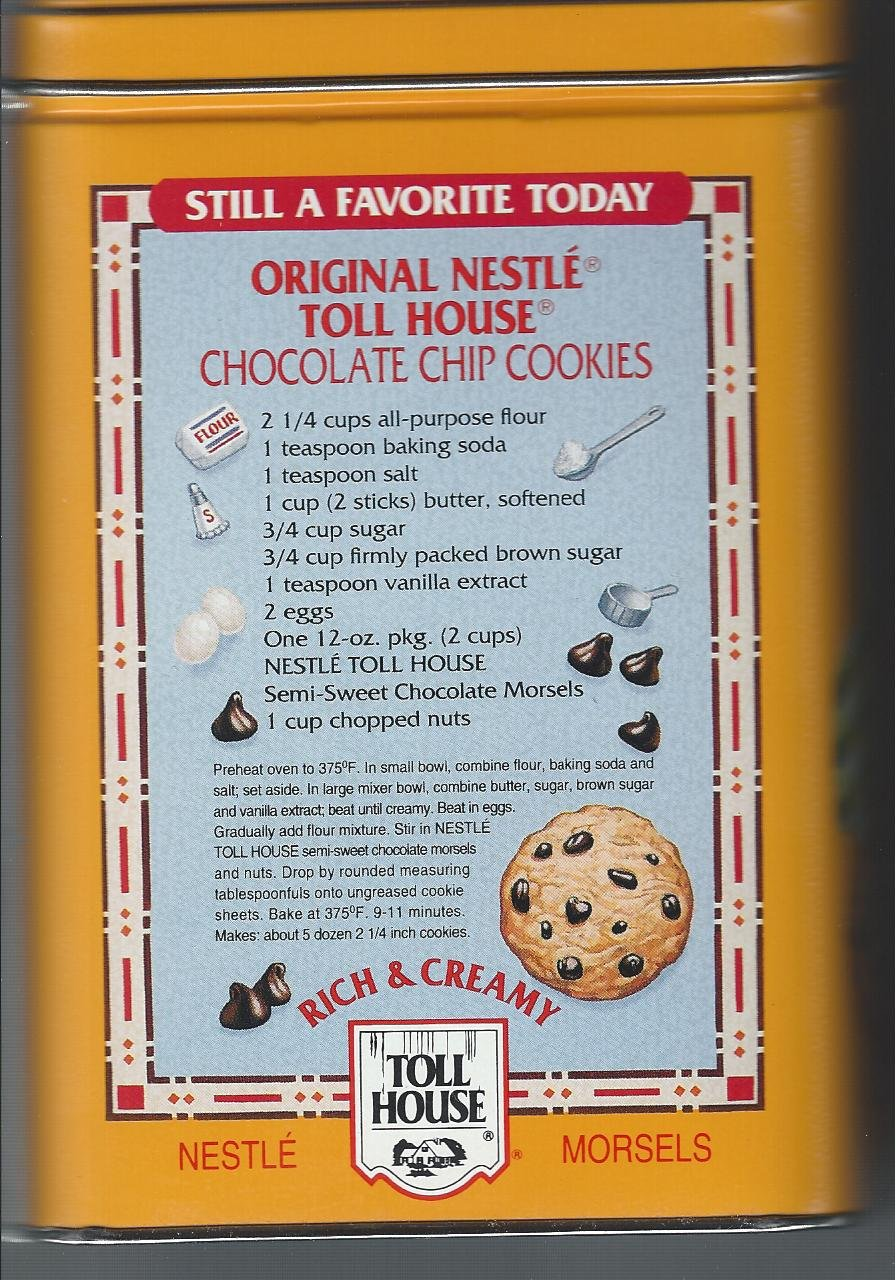 Nestle Toll House Cookie Recipe Image Gallery - HCPR