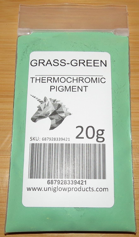 5g, Grass Green UniGlow ThermoChromatic Pigment