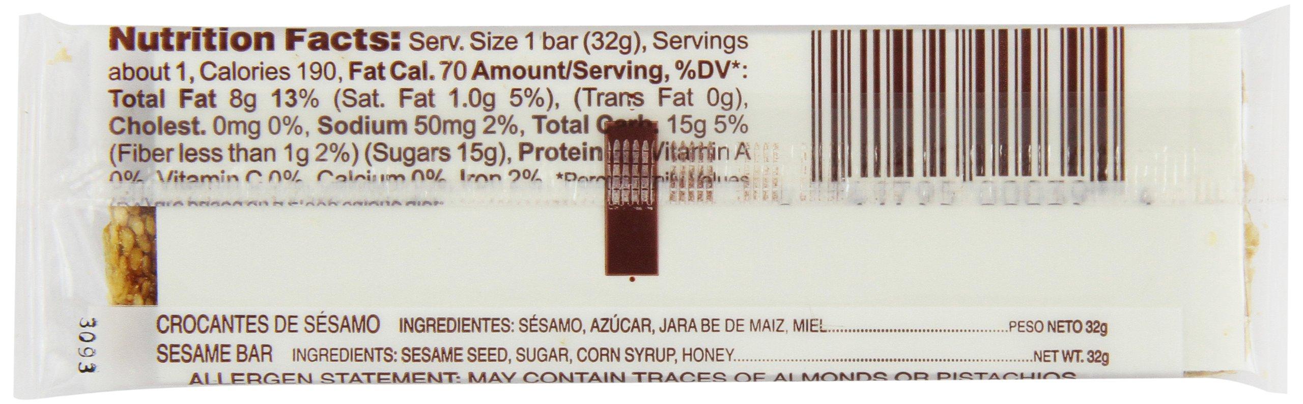 Joyva Sesame Bars, 1.125-Ounce Bars (Pack of 36) by Joyva (Image #4)