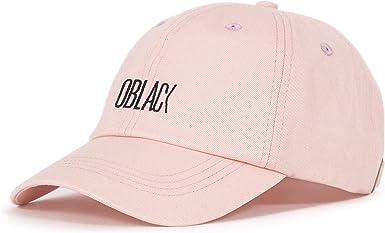 Oblack Gorra Rosa Beisbol Ajustable con Visera Curvada para Mujer - Gorras de Hombre: Amazon.es: Ropa y accesorios