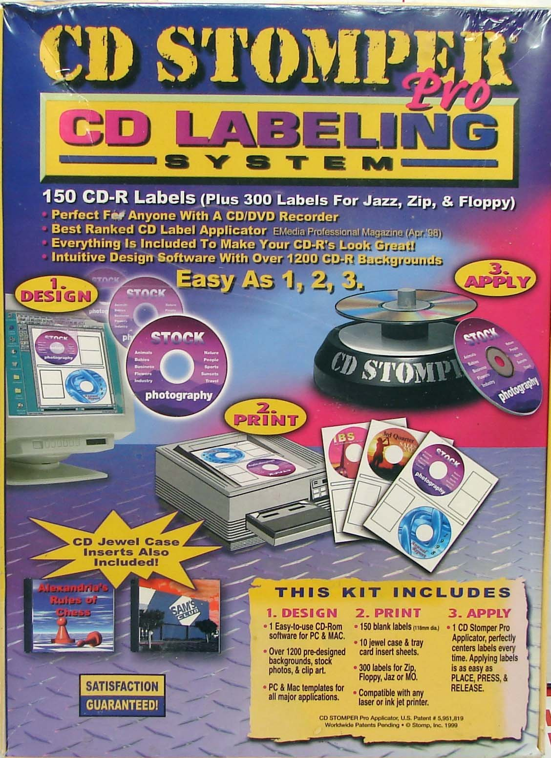 CD Stomper Pro CD Labeling System by Stomp, Inc.