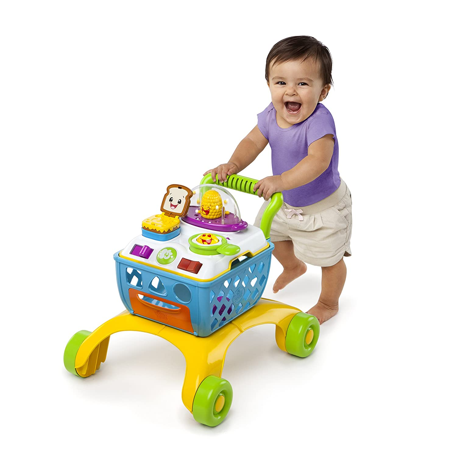 Amazon Bright Starts Giggling Gourmet Shop n Cook Walker Baby