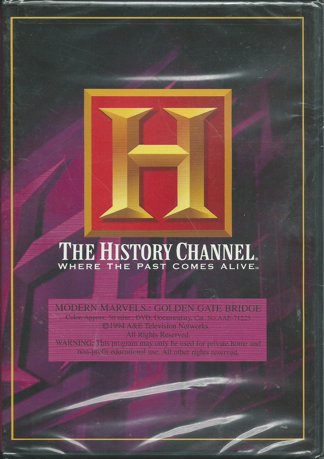 Modern Marvels - Golden Gate Bridge (A&E DVD Archives)