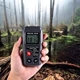 Wood Moisture Meter, Digital 4 Calibrated wood groups Wood Moisture Detector, 2 pins Wood Portable Moisture Tester Water, HD Digital LCD Display with one 9V Battery(Included) Range 0% - 99.9%
