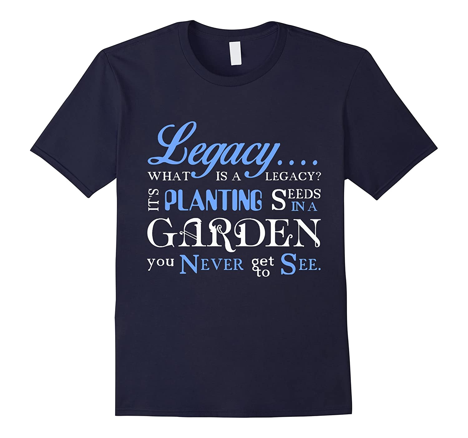 -Hamilton-Legacy Quote T-Shirt-Art