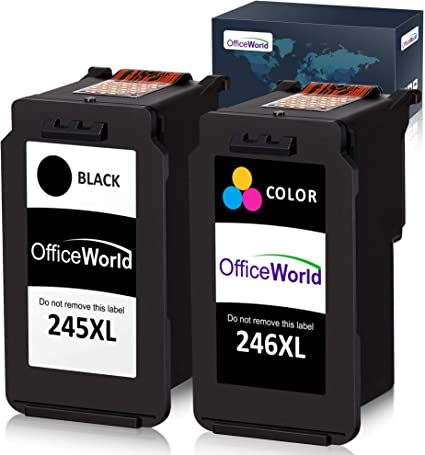 Super 245XL 246XL ink cartridge combo non-OEM for Canon MX492 MX490 2922 printer