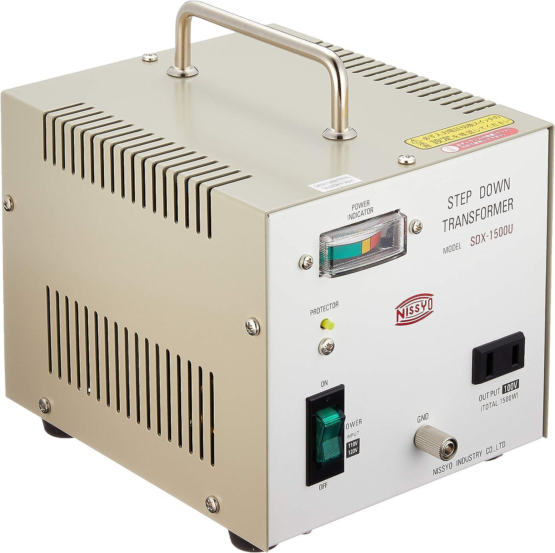 AC130V to AC100V 330W DN-103 Nissho Kogyo Transformer overseas travel AC110V