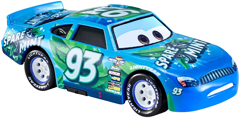 Disney Pixar Cars 3 Spare O Mint Fahrzeug aus dem Disney Pixar Cars 3 Film Die Cast Fahrrzeug mit Mini Poster