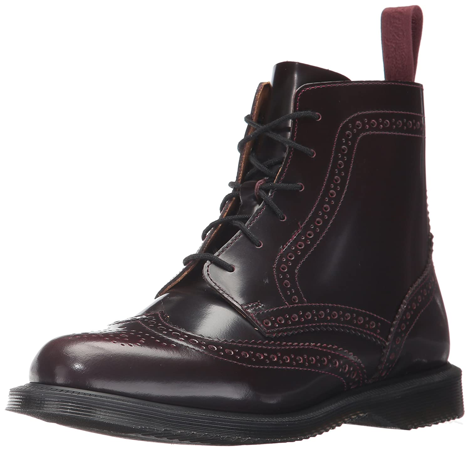 Dr. Martens Women's Delphine Red Arcadia Ankle Boot B01MY399KP 5 Medium UK (7 US)|Cherry Red