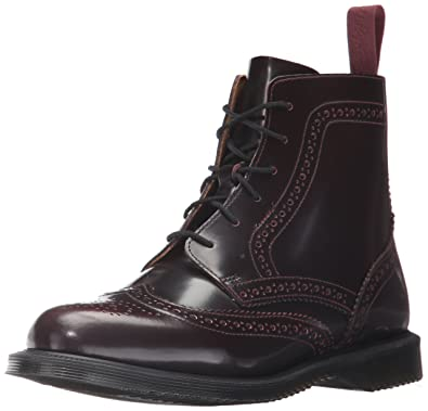 Dr. Martens Women s Delphine Red Arcadia Ankle Boot c38bf3a1f8