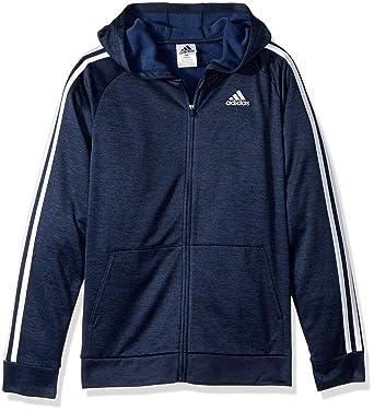Amazon.com  adidas Boys  Zip Up Hoodie  Clothing fe6f72435a0