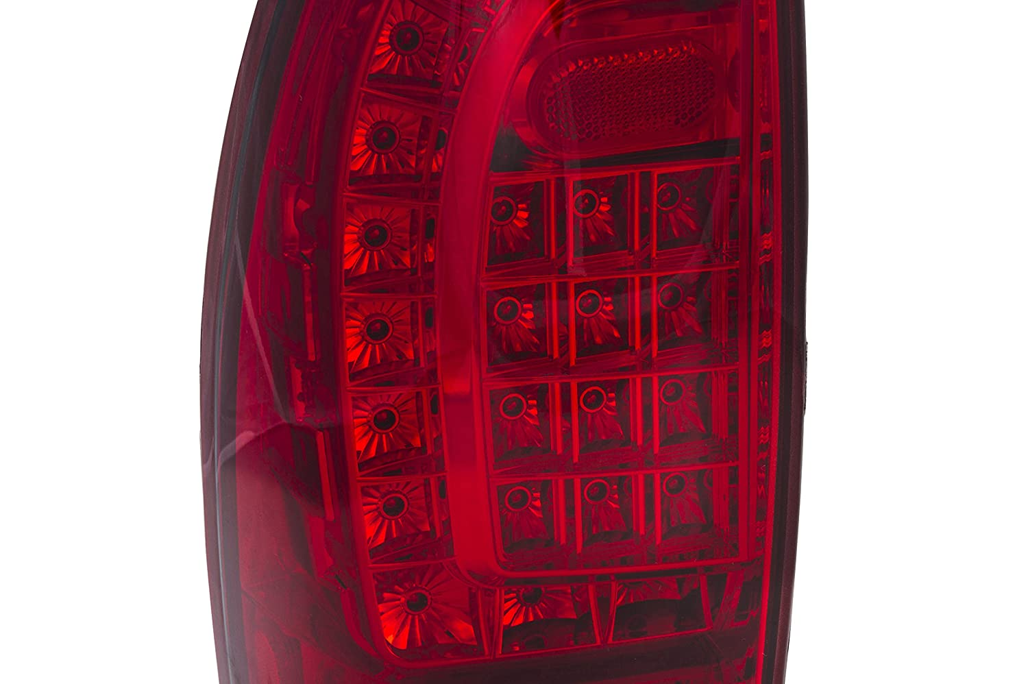 Replacement Rear 2Nd Generation Led Tail Lights Red Lens For Toyota Tacoma