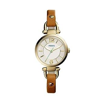 69d0fcd565b2 Fossil Reloj de Pulsera de Mujer ES4000  Amazon.es  Relojes