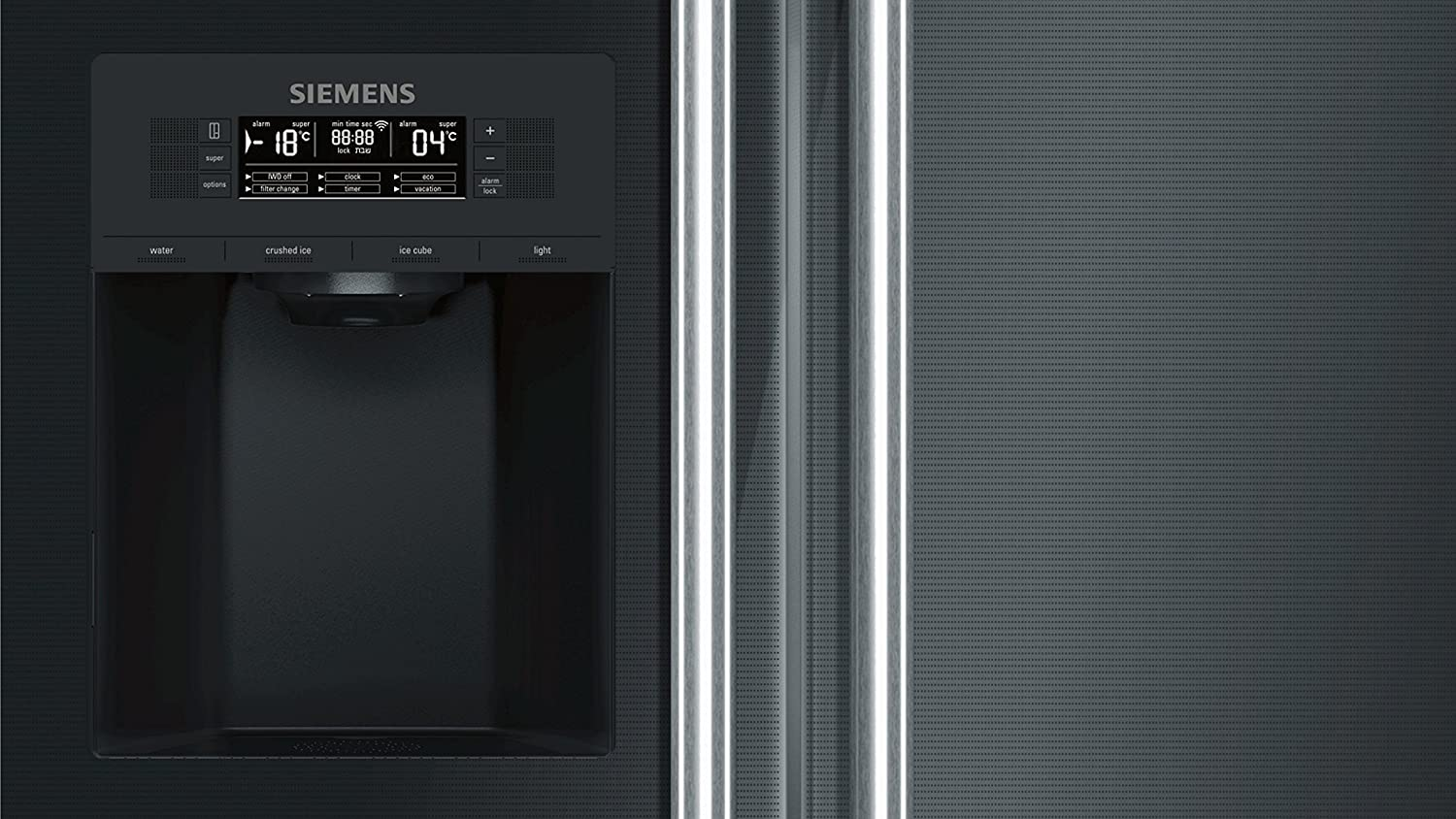 Siemens Kühlschrank Coolbox : Siemens ka92dsb30 home connect iq700 side by side a 175 6 cm